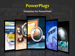 PowerPoint Template - Search concept